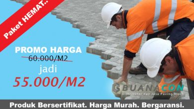 Harga Borongan Pasang Paving Block