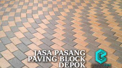 Jasa Pasang Paving Block Depok